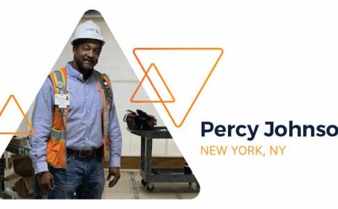 Associate Success Story: Percy Johnson