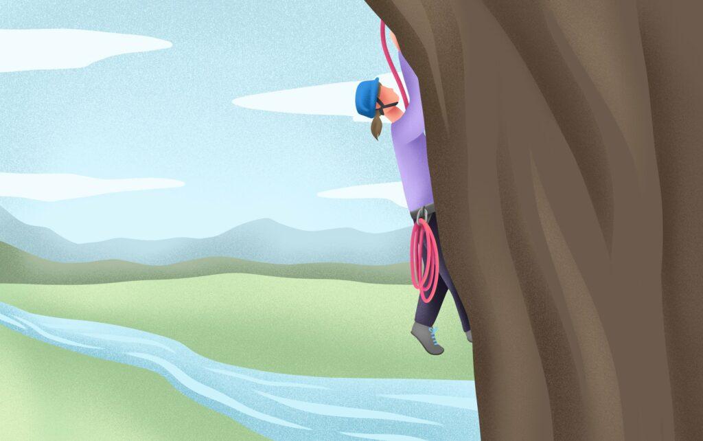 CLIMBING THE JOB SEARCH MOUNTAIN