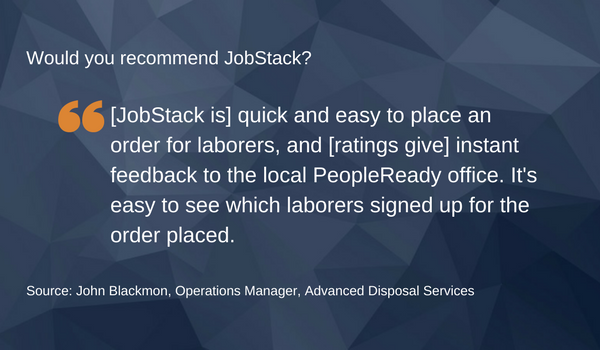 Jobstack, PeopleReady