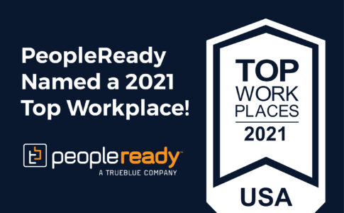 TrueBlue's PeopleReady, PeopleScout and Staff Management | SMX Named Top Workplaces in US
