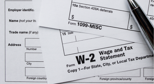 classifying workers; taxes; w-2