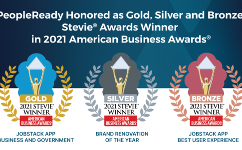 PeopleReady Earns Gold, Silver and Bronze Stevie® Awards in 2021 American Business Awards®
