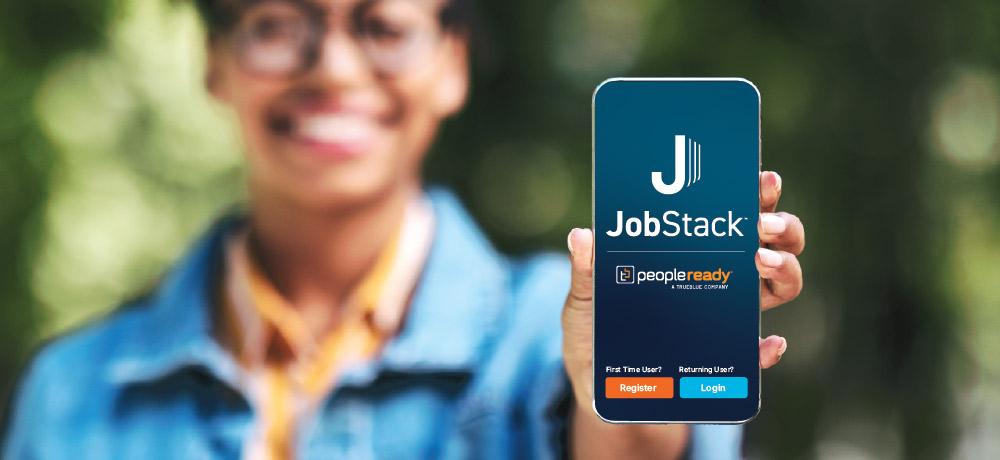 Jobstack, job search, temporary labor, on-demand labor