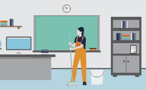 Family Cleaning Business Serves Major School District with PeopleReady Staffing