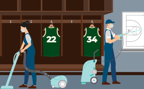 2021 NBA Champion Milwaukee Bucks Find Cleaning Staff with JobStack